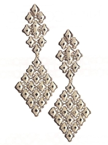 Sergio Gutierrez Liquid Metal Dangle Earrings Style E16